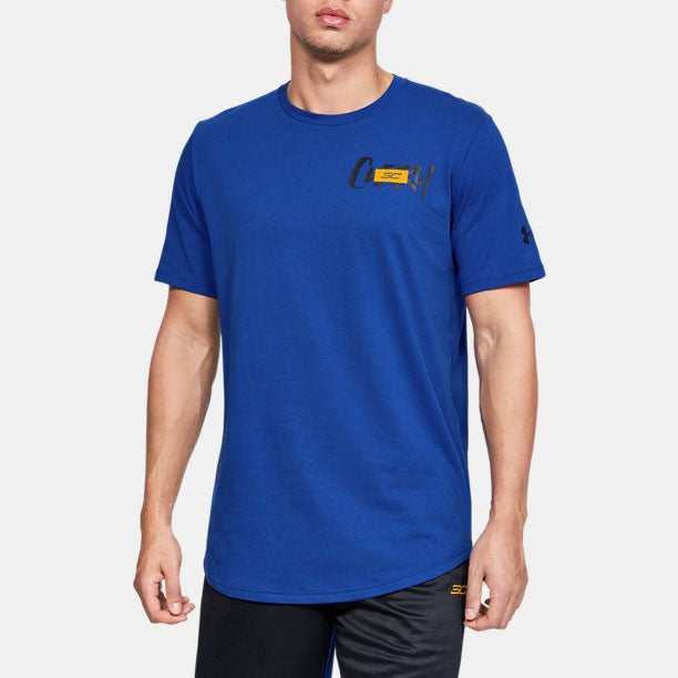 Under Armour Men's SC30 Stack Logo Short Sleeve Tee