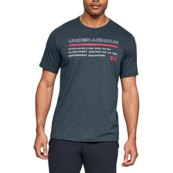 Under Armour Men's Issued Short Sleeve Tee - Wire