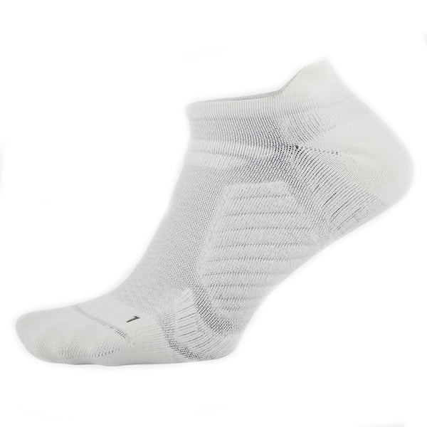 Under Armour Men's Cooling No Show Socks | White