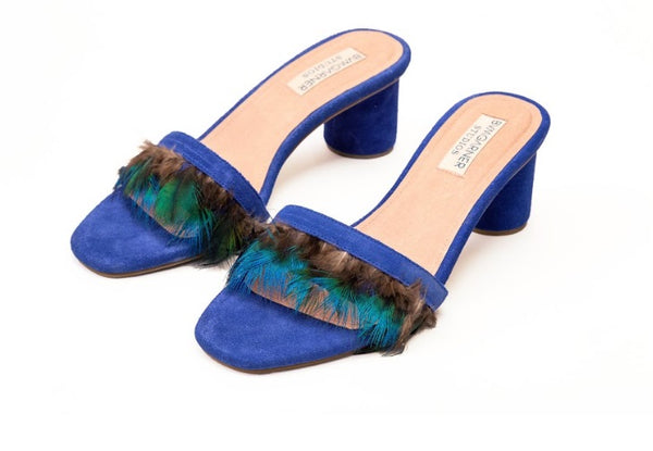 Mark Bumgarner Willow sandals in Blue