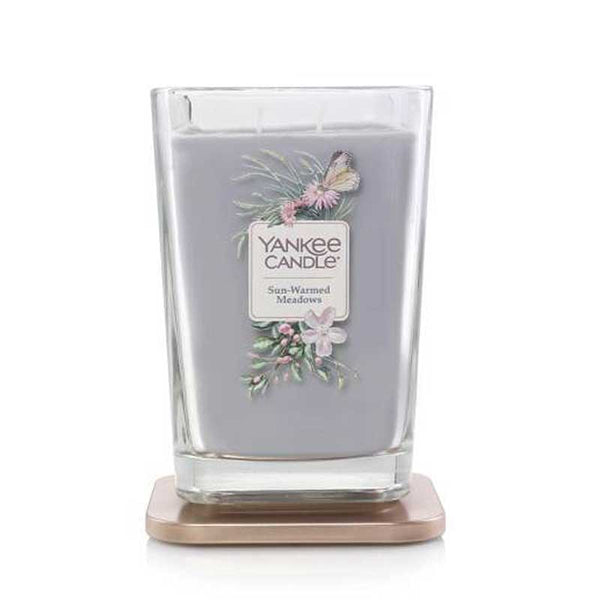 Yankee Candle Elevation Collection Large 2-Wick Square Scented Candle | Sunwarmed Meadows