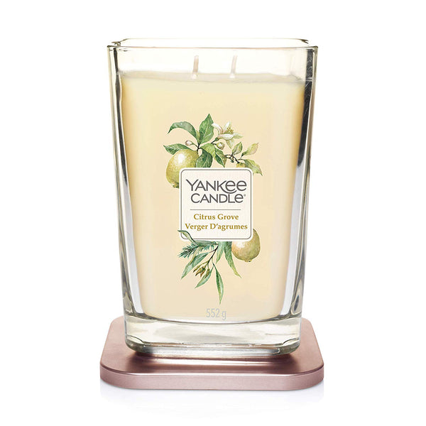 Yankee Candle Elevation Collection Large 2-Wick Square Scented Candle | Citrus Grove