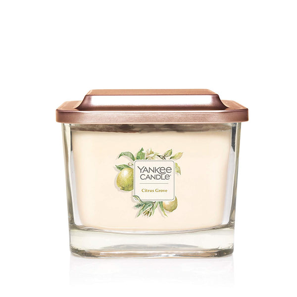 Yankee Candle Elevation Collection Medium 3-Wick Scented Candle | Citrus Grove