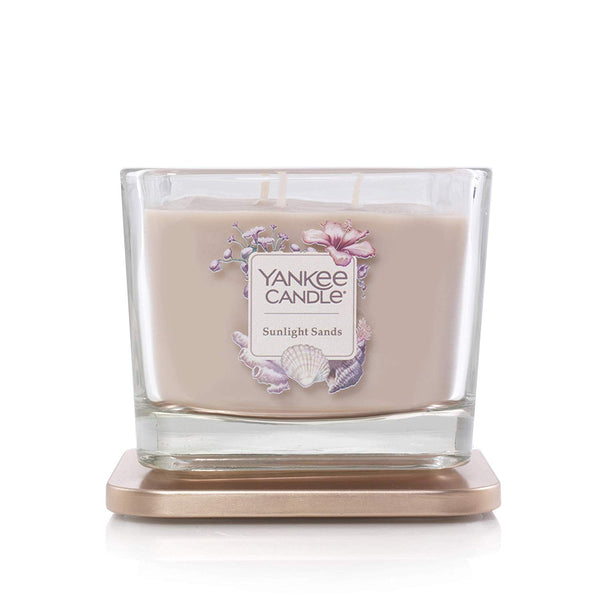 Yankee Candle Elevation Collection Medium 3-Wick Scented Candle | Sunlight Sands