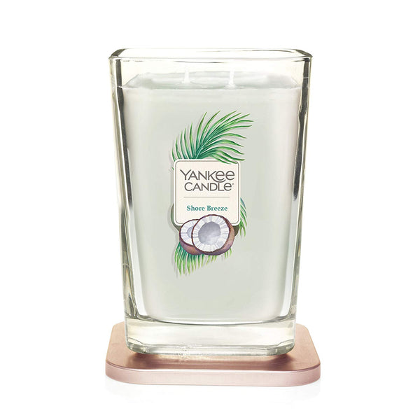 Yankee Candle Elevation Collection Large 2-Wick Square Scented Candle | Shore Breeze