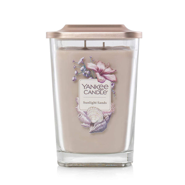 Yankee Candle Elevation Collection Large 2-Wick Square Scented Candle | Sunlight Sands