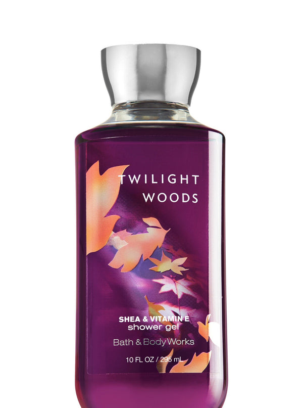 TWILIGHT WOODS Shower Gel- shea & vitamin E