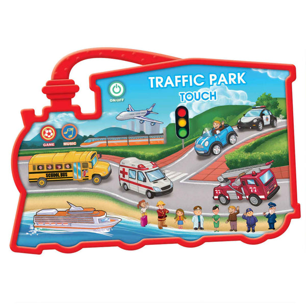 Baby Bliss Touch Series Interactive Playset - Traffic Park
