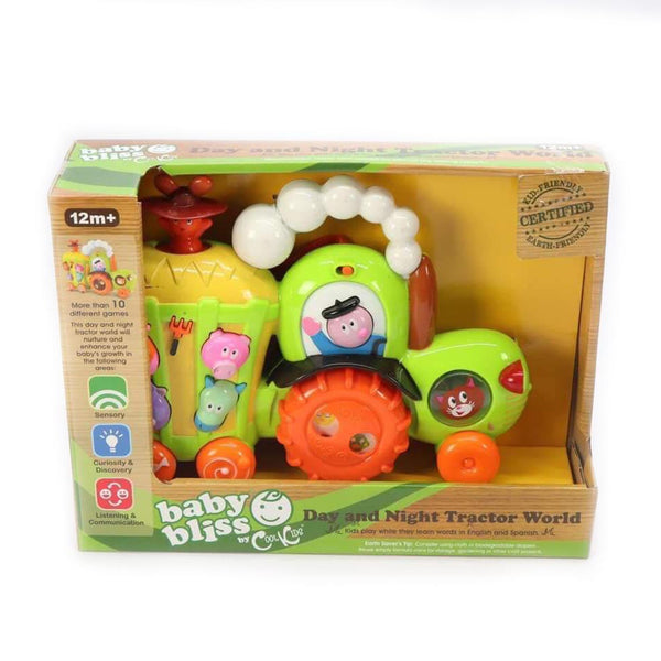 Baby Bliss Day & Night Tractor
