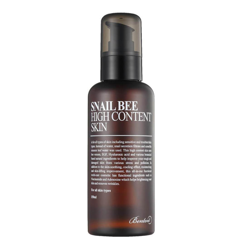 Benton Snail Bee High Content Skin 150ml