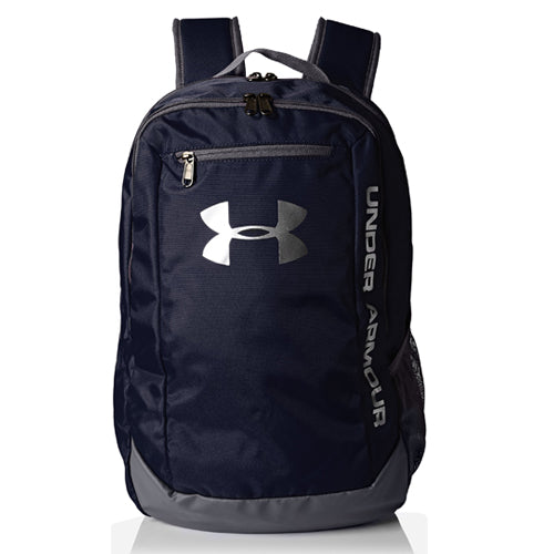 Under Armour Men's Hustle LD Water Resistant Backpack Laptop, Midnight Navy