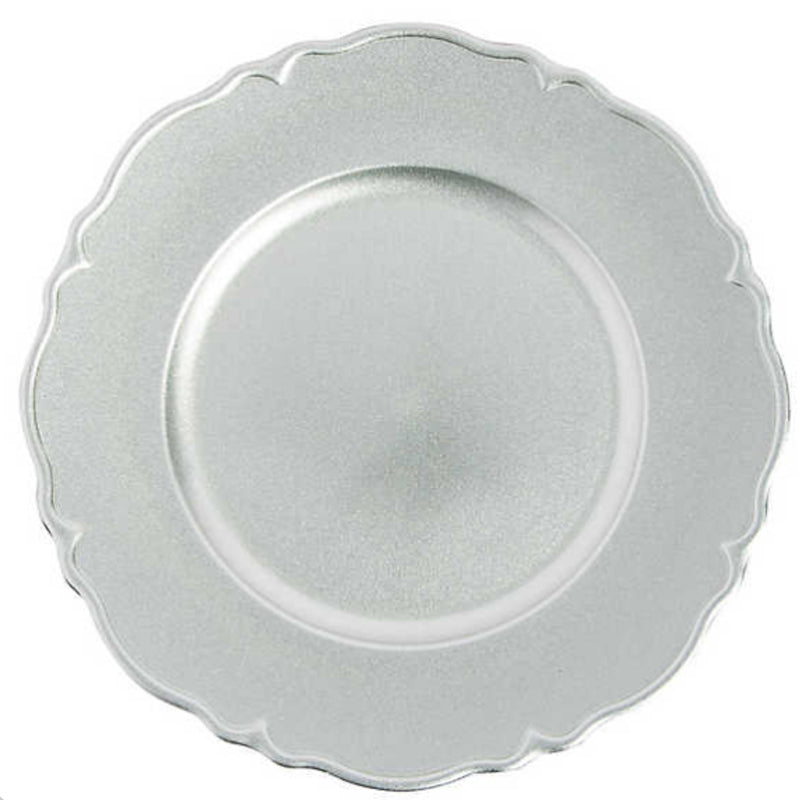 Charger Plate  Scalloped