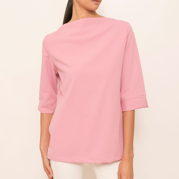Amalia Top in Pink Rose