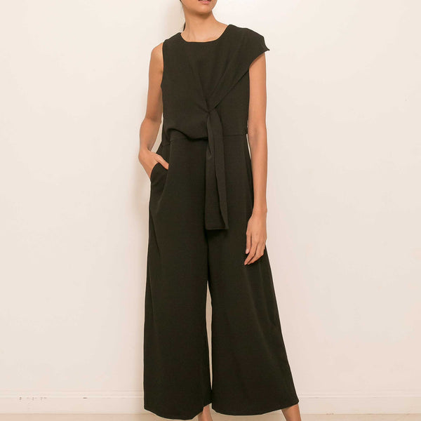 Amina Jumpsuit in Black