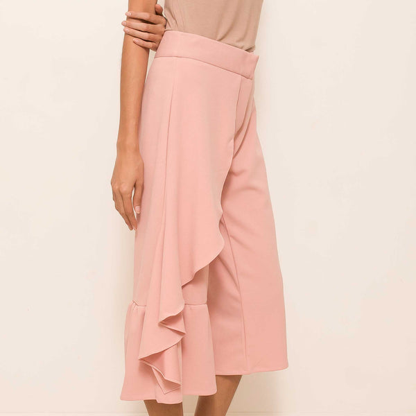Canvas Kia Culottes in Blush