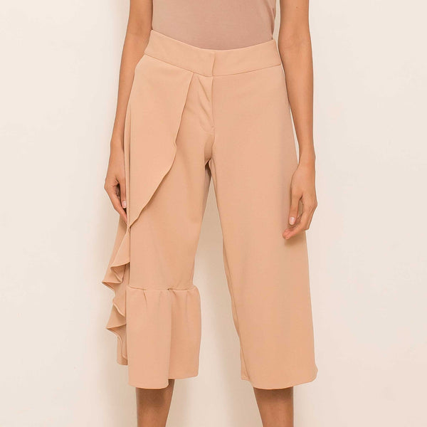 Canvas Kia Culottes in Sand