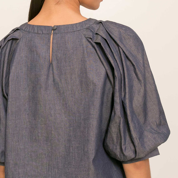 Lagritte Top in Chambray