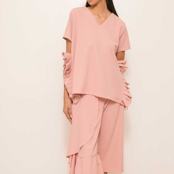 Namisha Top in Blush