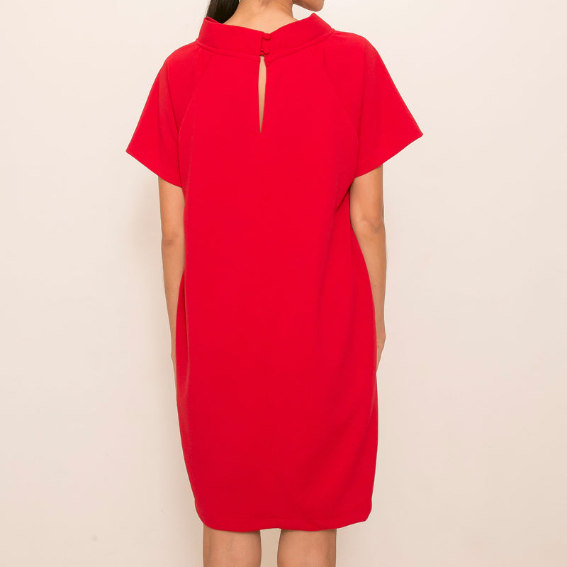 Canvas Nique Dress in Red