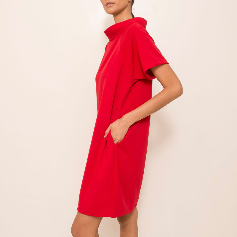 Nique Dress in Red