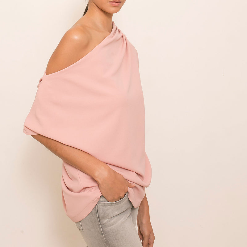 Canvas Benefiance Top in Blush