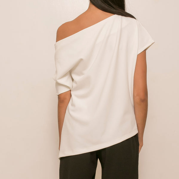 Canvas Benefiance Top in White