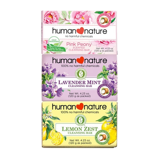 Human Nature Scented Cleansing Bar 120g