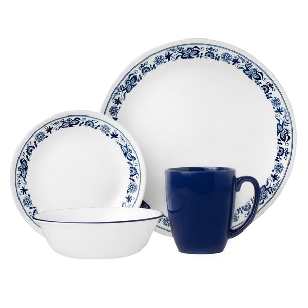 Corelle Livingware 16-pc. Set in Old Town Blue design