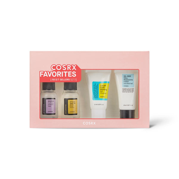 COSRX Favorites Best Sellers Set, 20ml each