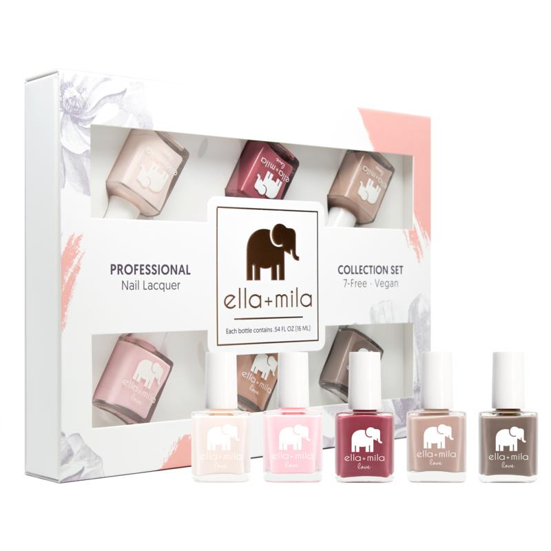 ella + mila Professional Nail Lacquer Set - Love Collection