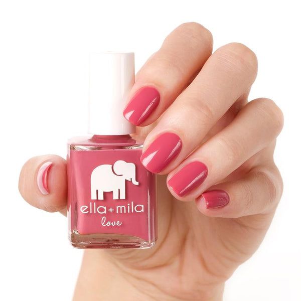 ella + mila Nail Polish Love Collection - Berry Much in Love