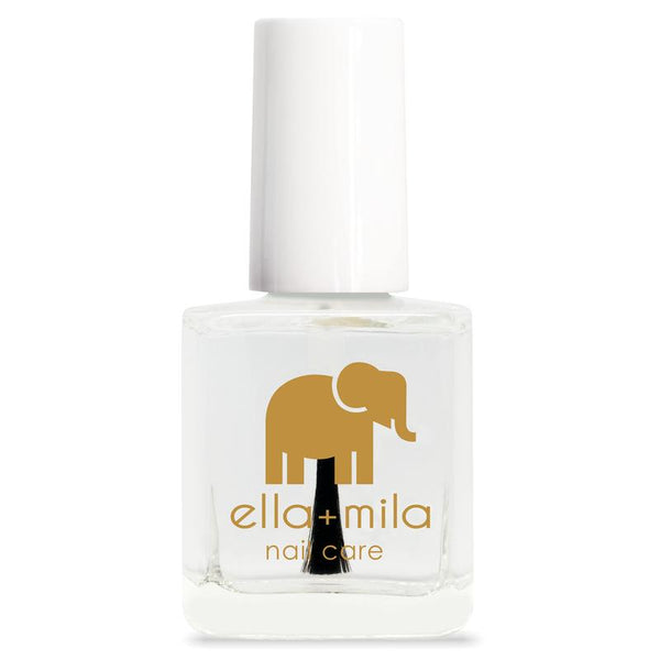 ella + mila Nail Polish - Fast-Drying Top Coat - In A Rush
