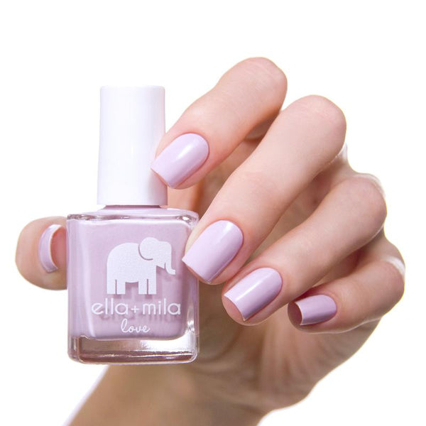 ella + mila Nail Polish Love Collection - Lilac Luster