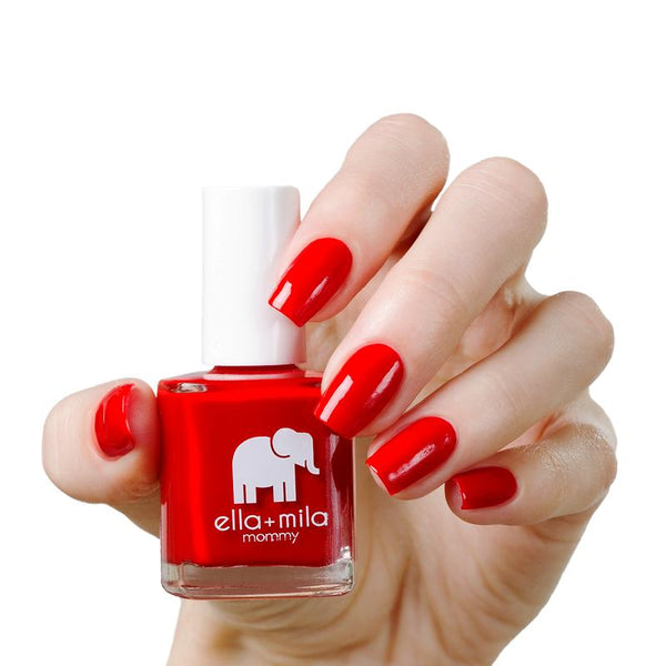 ella + mila Nail Polish Mommy Collection - Paint the Town Red