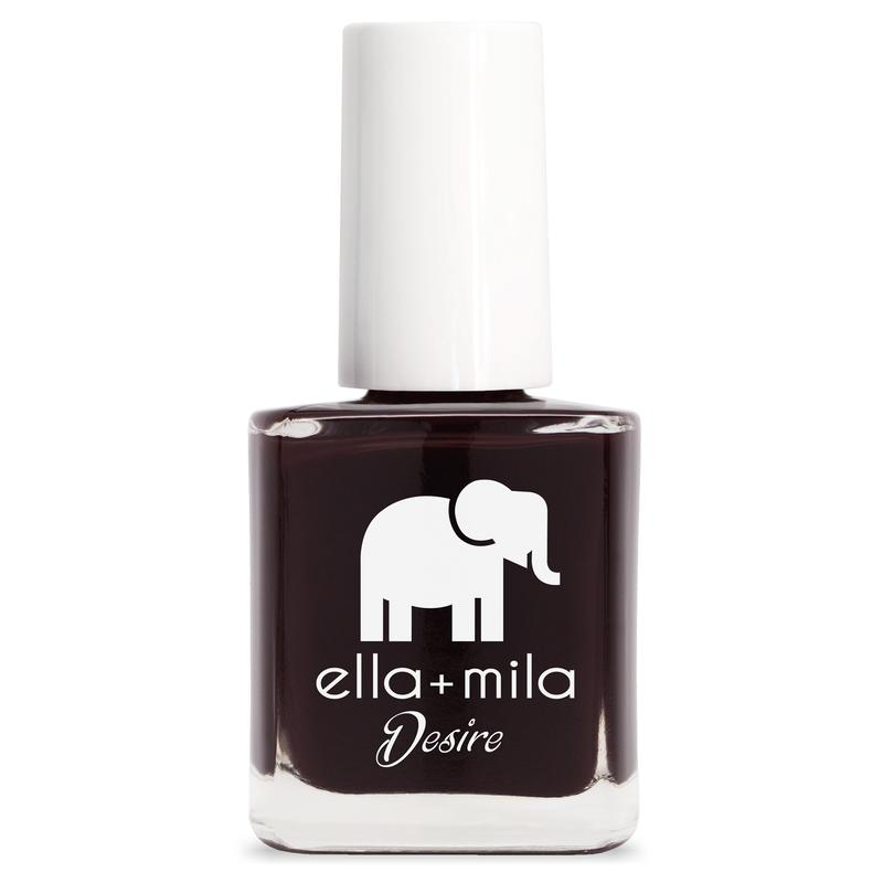 ella + mila Nail Polish Desire Collection - Wine Me Up