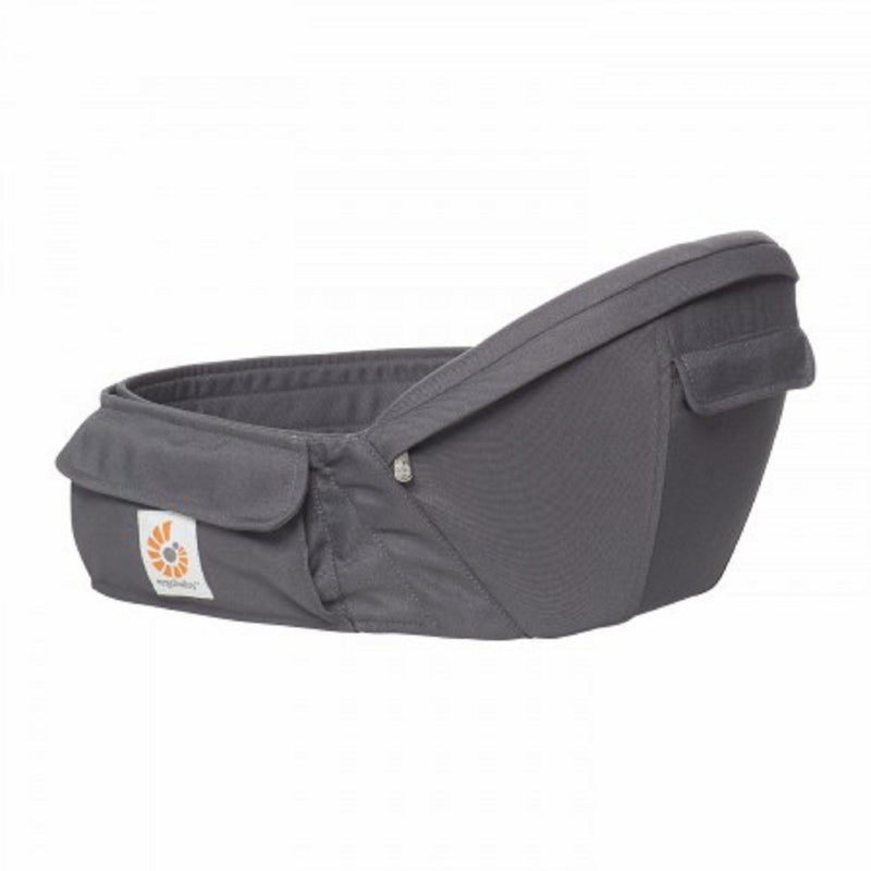 Ergobaby Hip Seat Baby Carrier | Cool Air Mesh - Carbon Grey