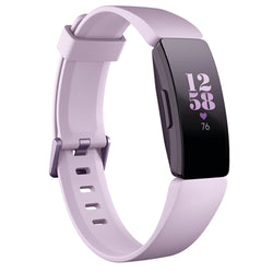 Fitbit Inspire HR Fitness Tracker in Lilac/White