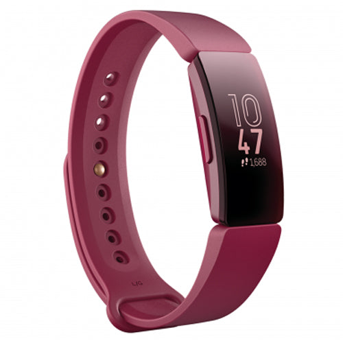 Fitbit Inspire Fitness Tracker in Black/Sangria