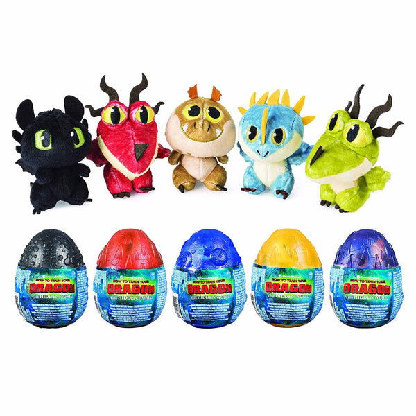 How to Train Your Dragon Soft Toy Egg Assortment