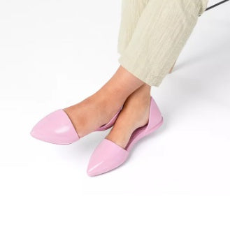 Native Audrey Flats in Milk Pink