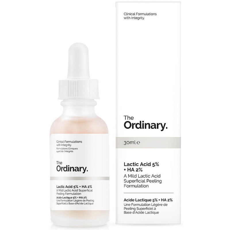 The Ordinary Lactic Acid 5% + HA 2% Superficial Peeling Formulation 30mlThe Ordinary Lactic Acid 5% + HA 2% Superficial Peeling Formulation 30ml