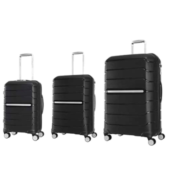 Samsonite Octo Eco Spinner Series (55/68/75cm) in Eco Black