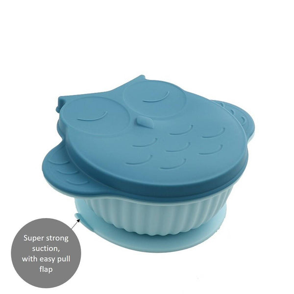 Owl Baby Silicone Suction Bowl