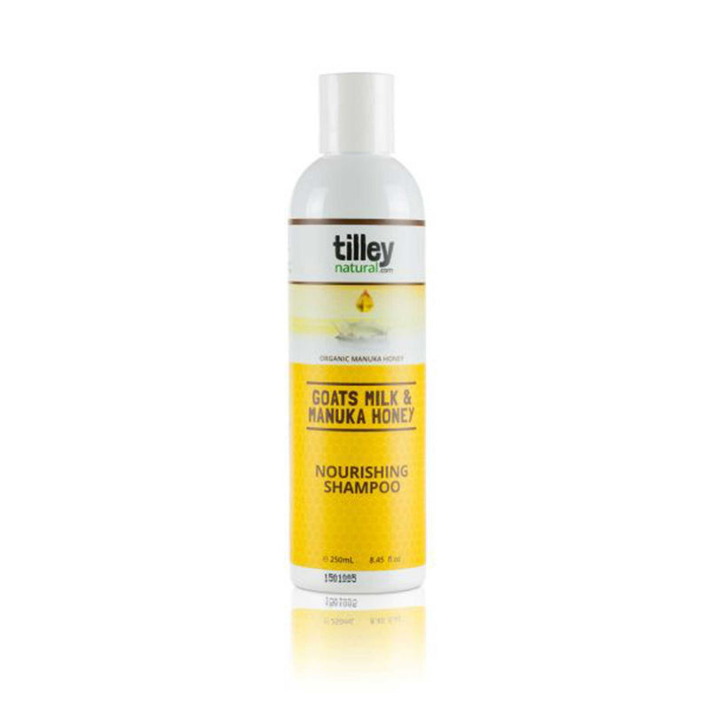 Tilley Natural Goats Milk & Manuka Honey Nourishing Shampoo 250mL