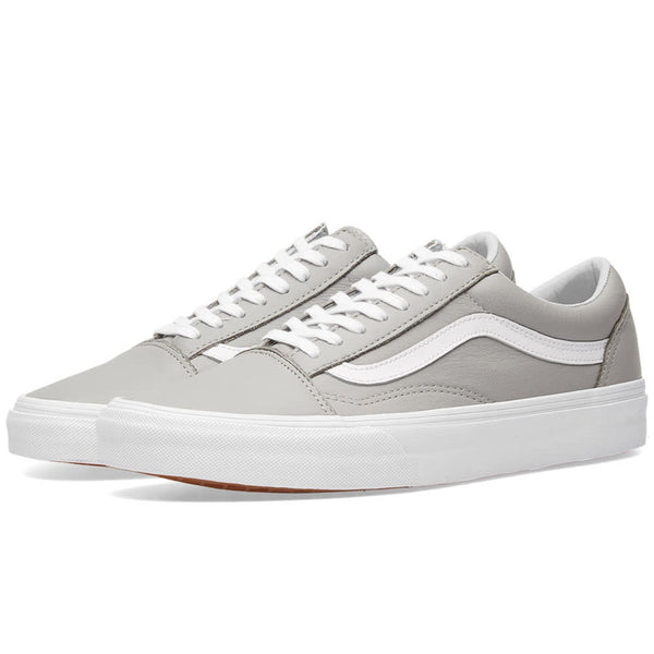Vans Men's Old Skool Leather Sneakers | Oxford/Drizzle
