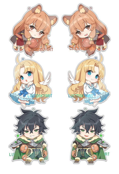 Shield Hero Charms