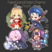 Load image into Gallery viewer, FGO Charms
