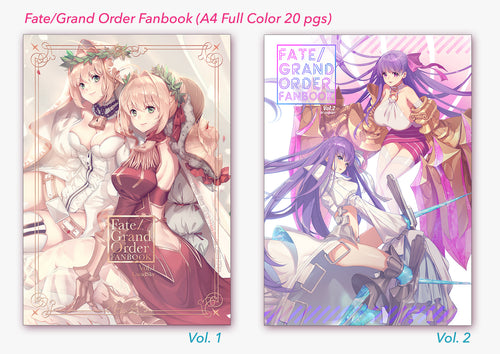 01 and 02 Fate/GrandOrder Fanbooks