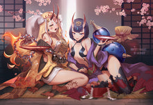 Load image into Gallery viewer, Shuten and Ibaraki Print