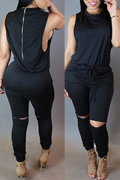 Sexy Sleeveless Jumpsuit